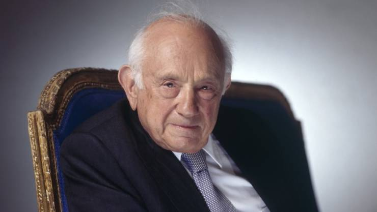 """Der deutsch-amerikanische Historiker Fritz Stern - hier 2007 im Zürcher Kaufleuten, wo er seine Memoiren """"Fünf Deutschland und ein Leben vorstellte - ist am Mittwoch mit 90 Jahren gestorben. (Archivbild)"""
