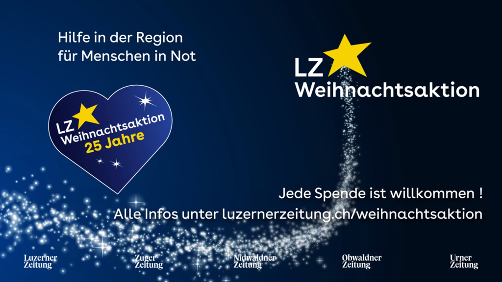 Spenden für Zentralschweizer in Not