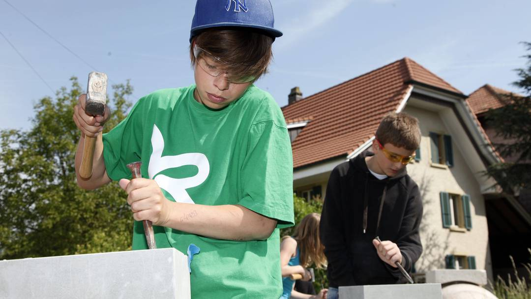 So viel Spass hatten die Schüler an der Solothurner Kulturwoche