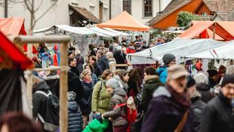 Jedes Jahr sind rund 3000 Menschen auf dem Badener Adventsmarkt anzutreffen.
