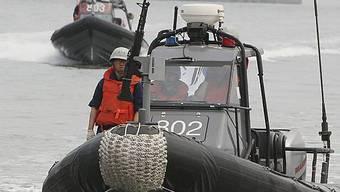 Südkoreanische Küstenwache in Aktion