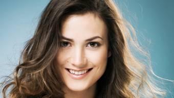 Steht offen zu ihrer Schwäche: Miss-Schweiz-Kandidatin Julia Egli (Pressebild)