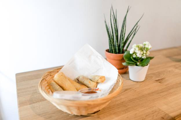 Als Snack sind die Lumpia, philippinische Frühlingsrollen, besonders beliebt.