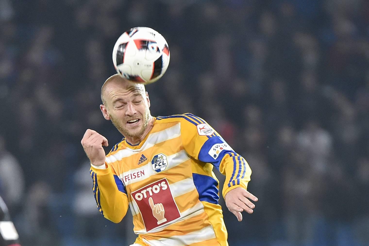 Luzerns Topscorer Marco Schneuwly.