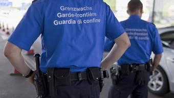 Grenzwächter in Basel (Archiv)