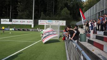 Die Schweiz testet vor dem WM in Kanada gegen Deutschland im Stadion Esp in Baden.