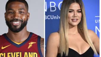 Werden Eltern: US-Reality-TV-Sternchen Khloe Kardashian und Basketballspieler Tristan Thompson (Cleveland Cavaliers). (Archivbilder)