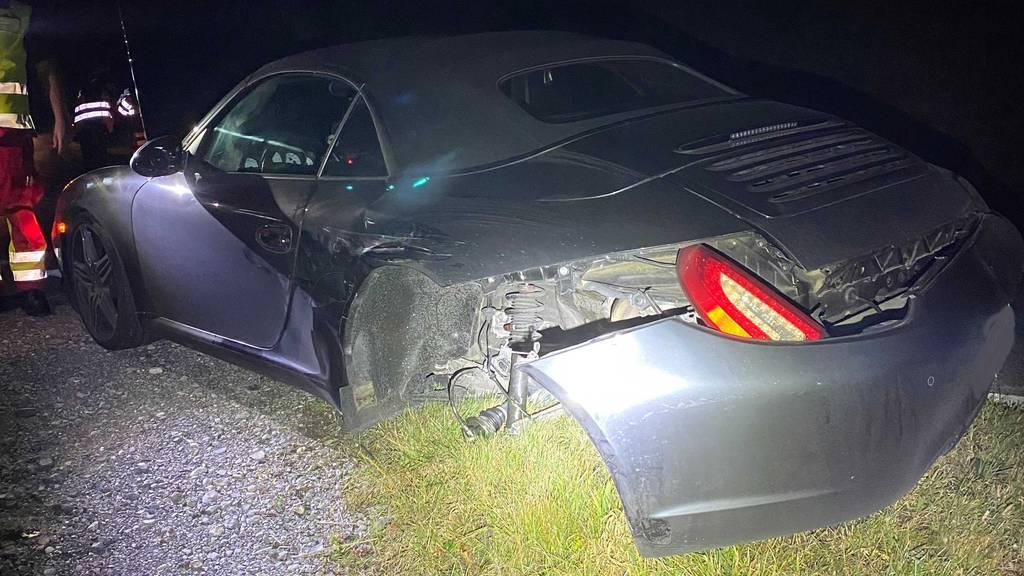 Angetrunkene Autofahrerin auf Gegenspur – drei Autos schrottreif