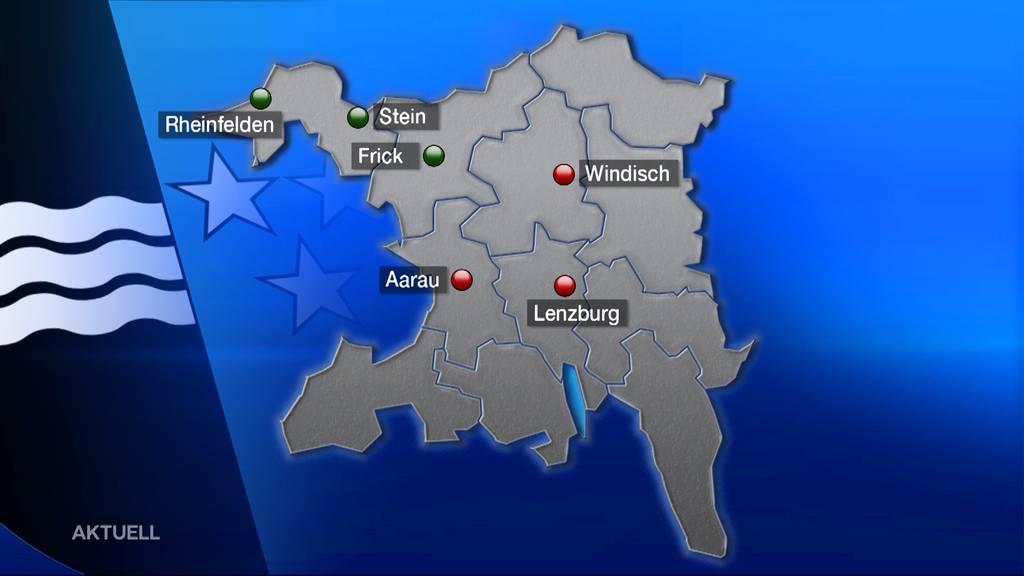 Entscheidung: Kanti-Standorte im Aargau