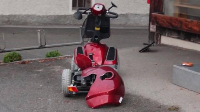 Geldstrafe für tödlichen Elektromobil-Unfall in Gerlafingen