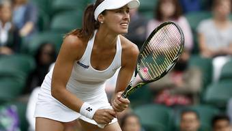 Martina Hingis feiert einen weiteren Titelgewinn im Doppel