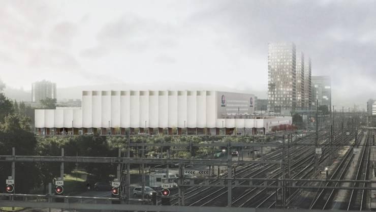 ZSC Stadion Visualisierung