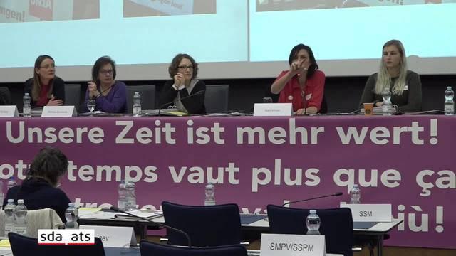 SGB-Frauenkongress zu unbezahlter Frauenarbeit und Frauenlöhnen