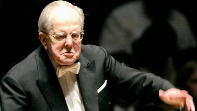 Der Dirigent Wolfgang Sawallisch (Archiv)
