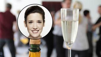 Mit einem Glas Prosecco dreht sichs leichter, findet Gülsha.