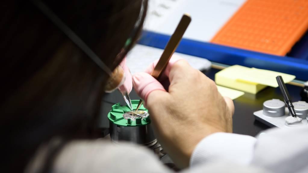 Uhrenexporte brechen im April regelrecht ein. (Archiv)