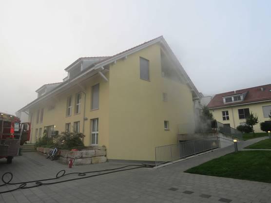 Der Brand in Rümikon.