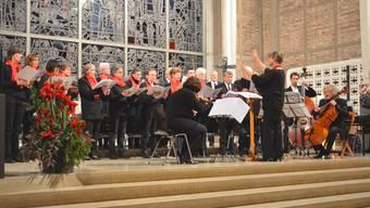 Der Singkreis St. Marien bei einem Konzert im Jahre 2014. Nun führte ein Mitgliederschwund zur Auflösung.