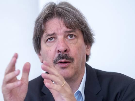 Der 2018 noch amtierende Gewerkschaftsboss Paul Rechsteiner (SP)