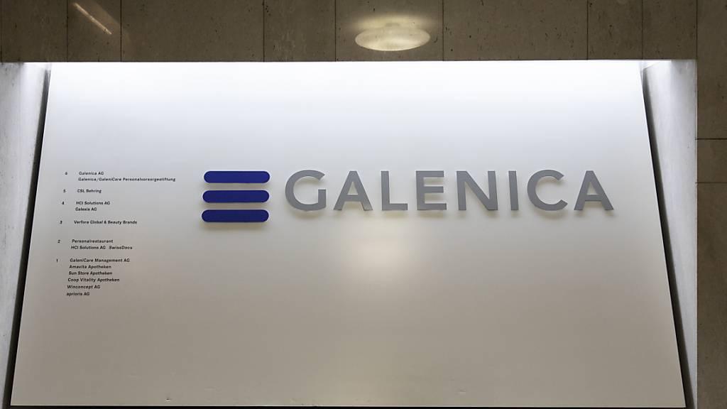 Galenica verkauft im April deutlich weniger in den Apotheken