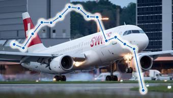 Am Flughafen Zürich verkehrten im März 63 Prozent weniger Passagiere als im Vorjahresmonat.