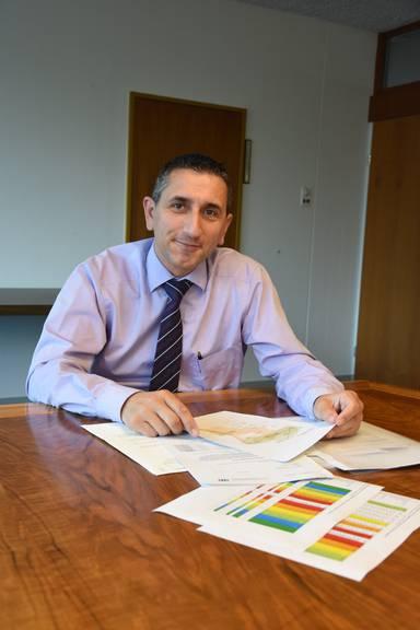 Gemeindepräsident Alois Gunzenreiner stellt sich gegen die Beschlüsse des Verwaltungsrates der St.Galler Spitalverbunde.