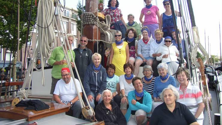 Gruppenbild auf der Aegir