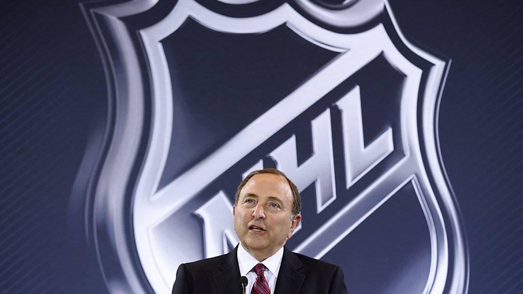 NHL-Boss Gary Bettman treibt seine Wachstumsstrategie voran