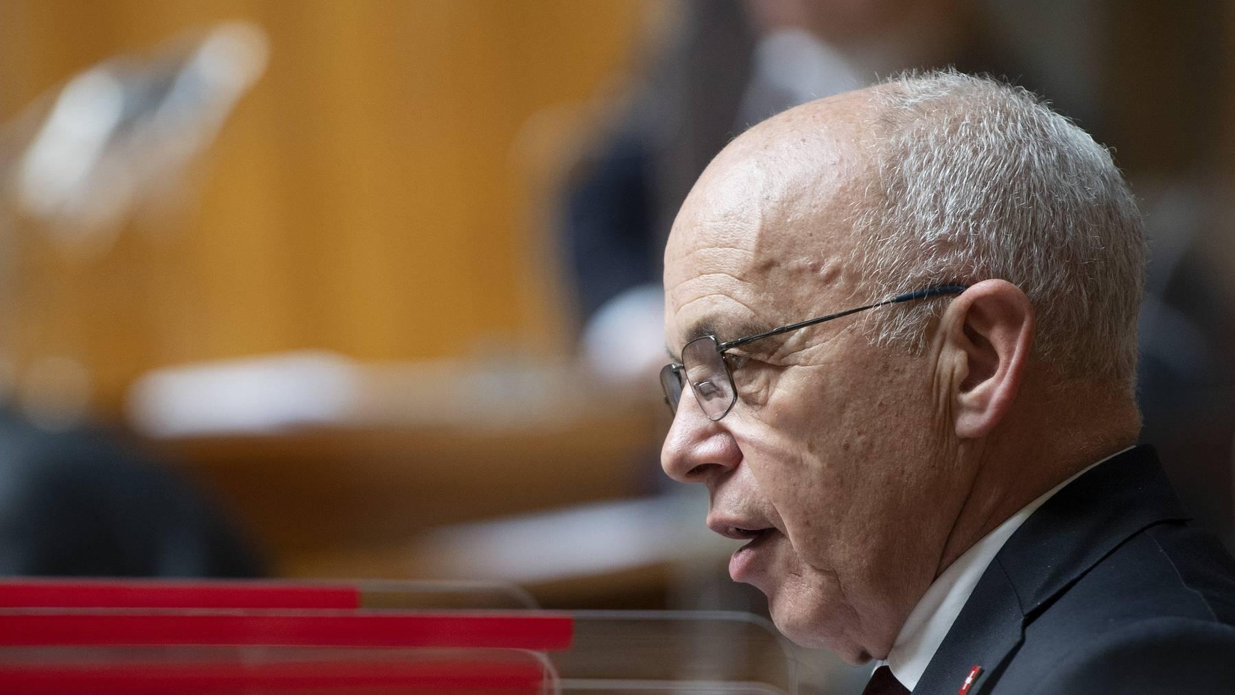 Bundesrat Ueli Maurer wollte die Laufzeiten der Coronakredite nicht verlängern.