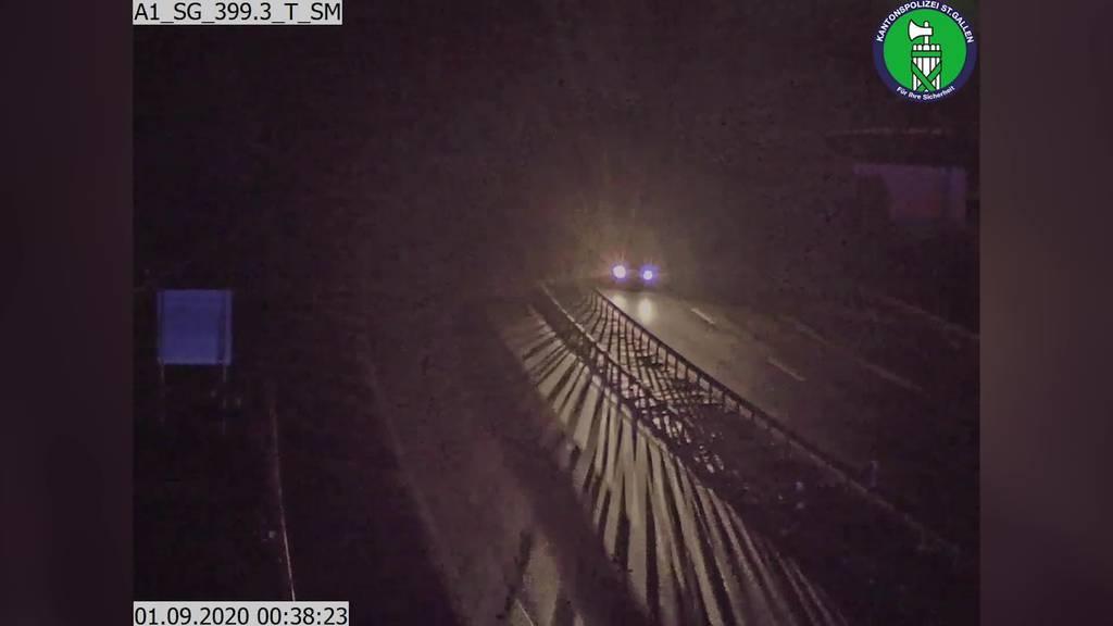 Albtraum für Autofahrer: Geisterfahrer auf A13 unterwegs