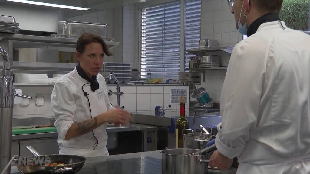 Pflegeheim-Köchin Nathalie Hänni-Stupf wird Zweite beim Swiss Culinary Cup