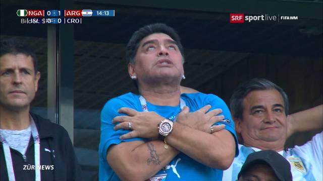 Maradonas Fussballkrimi an der WM