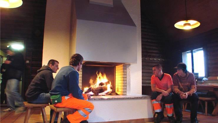 Nicht immer wird im Cheminée vorschriftsgemäss Holz verbrannt. Bru