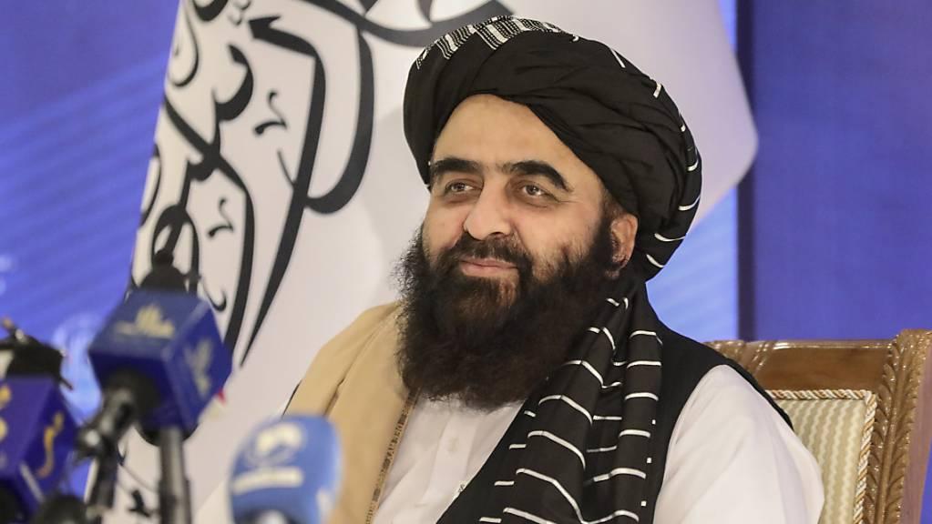 Amir Chan Motaki, Aussenminister des neuen Kabinetts der Talibans.