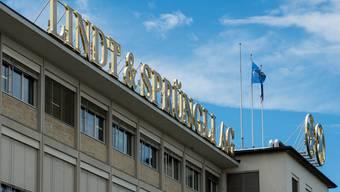 Der Sitz des Schweizer Schokoladekonzerns Lindt & Sprüngli bei Zürich. In den USA baut dieser seine Tochtergesellschaften gerade um.