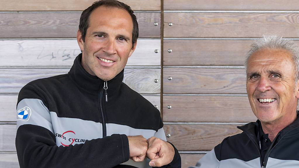 Michael Albasini (links) folgt als Nationaltrainer auf seinen Vater Marcello