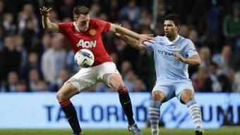 Manchester United gegen Manchester City