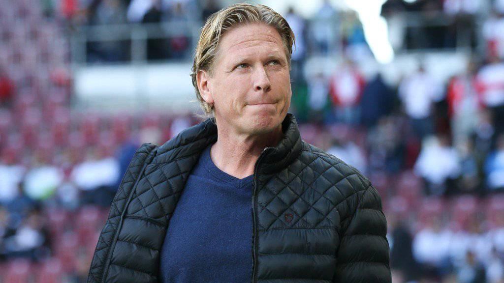 Mit dem HSV weiterhin auf dem Barrage-Platz: Trainer Markus Gisdol