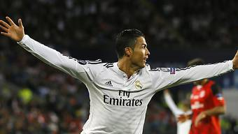 Cristiano Ronaldo schoss Real Madrid zum ersten Saison-Titel