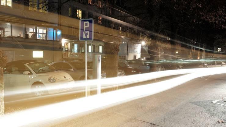 Liestals Parkplatz-Politik steht wieder einmal im Scheinwerferlicht. Immerhin besteht Einigkeit, dass das neue Regime nicht das Ei des Kolumbus ist (im Bild die Allee).