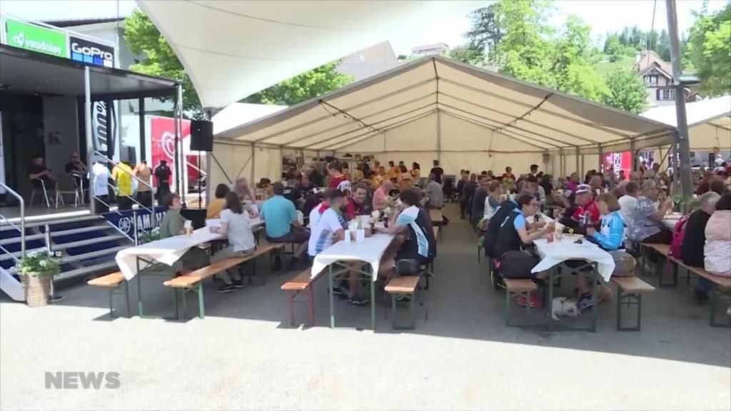 Tour de Suisse kommt in Langnau ins Rollen
