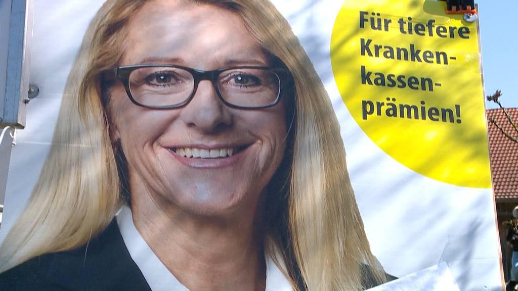 Therese Schläpfer mit politischer Turbo-Karriere