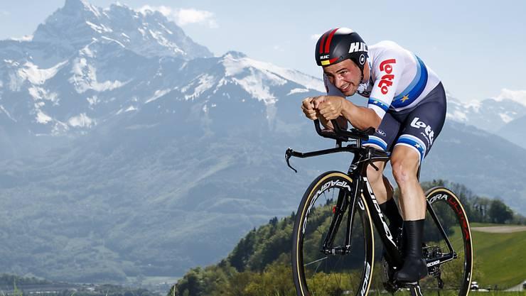 Victor Campenaerts war im vergangenen Jahr auch an der Tour de Romandie schnell unterwegs.
