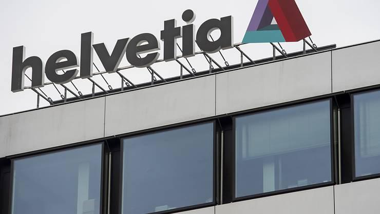 Der Versicherungskonzern Helvetia hat für das erste Semester gute Geschäftszahlen bekanntgegeben. (Archivild)