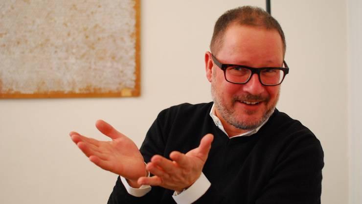 Seit sieben Jahren ist Andreas Beck Herr im Schauspielhaus Wien. Ab Mitte 2015 führt er das Theater Basel. «Verführen» scheint sein liebstes Verb zu sein.