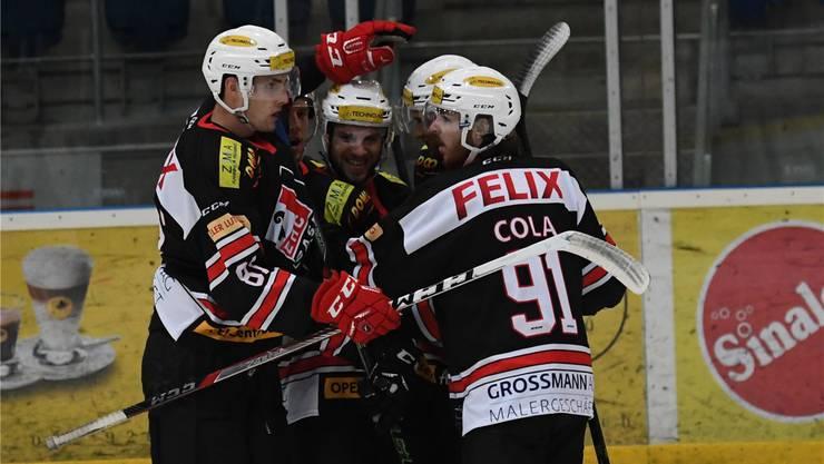 Die Eishockeyspieler des EHC Basel KLH kämpfen in der kommenden Saison in der Swiss Regio League gegen starke Gegner um Punkte.