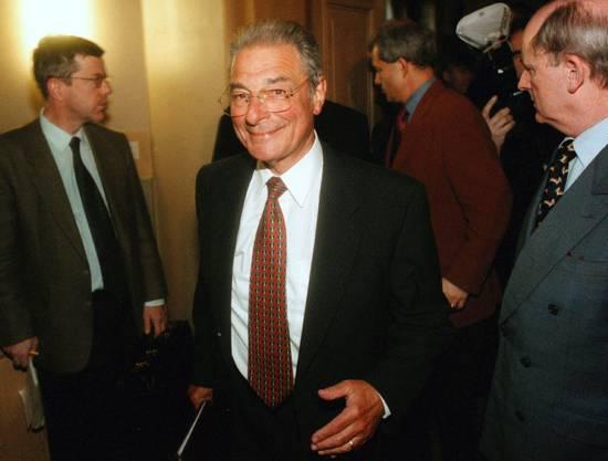 Jean-Pascal Delamuraz traf als Bundesrat auf einen Crypto-Kadermann.