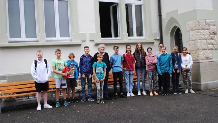 Teilnehmerinnen und Teilnehmer des Sommer-Intensivkurses.