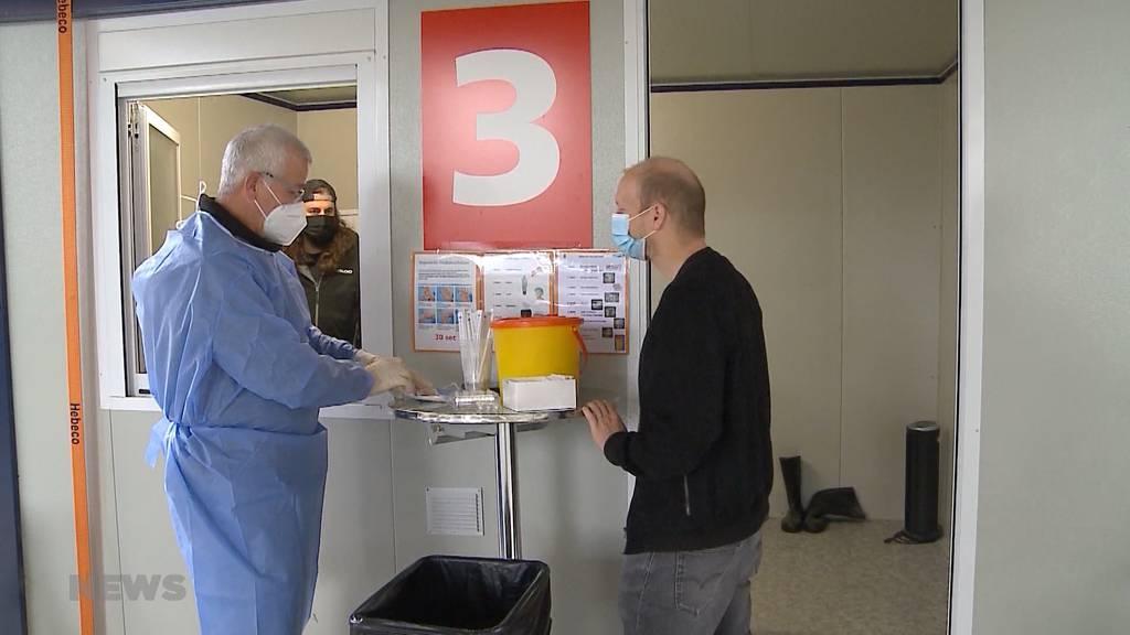 Solothurner Testcenter überlastet