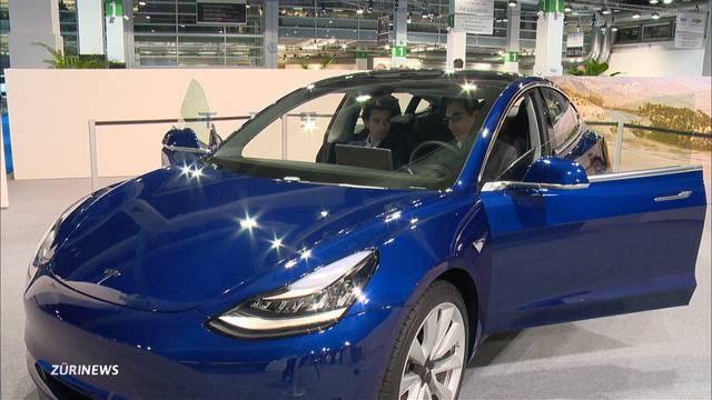 Die Zukunft des Autos an der Auto Zürich